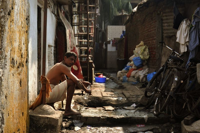 Foto fra Mumbai i Indien.